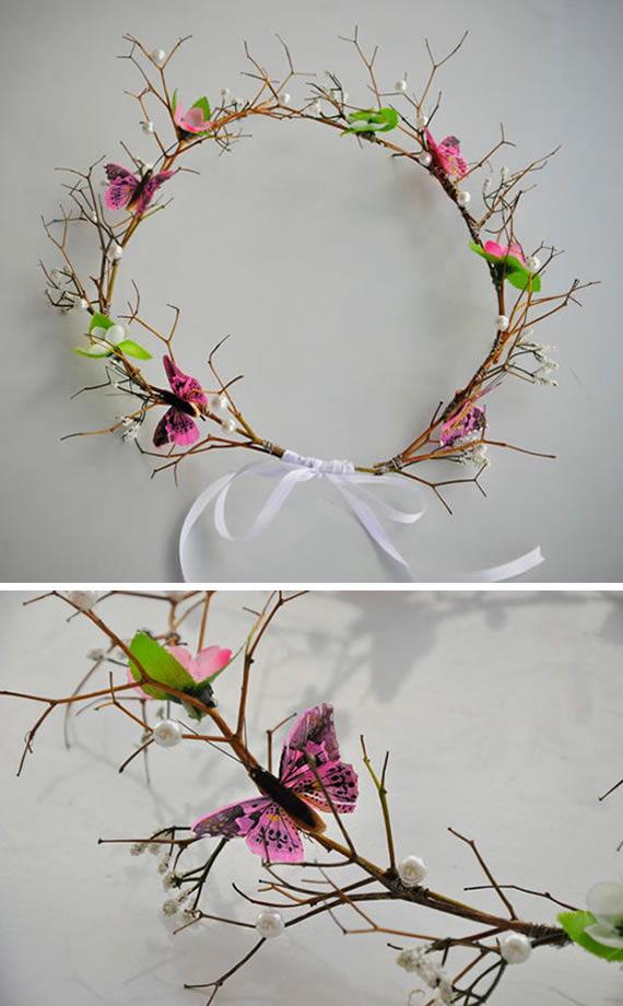 Tiarinha de flores passo a passo