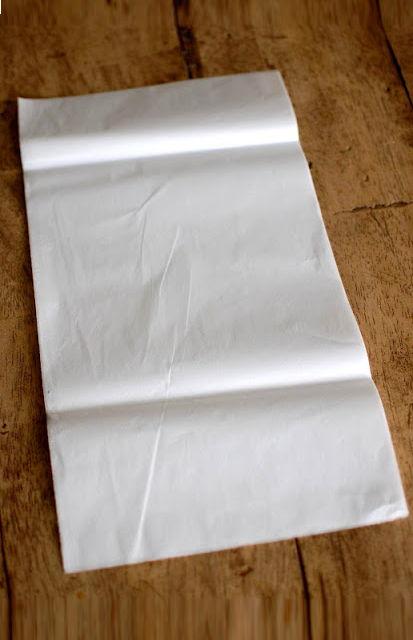 Papel de seda para decoração