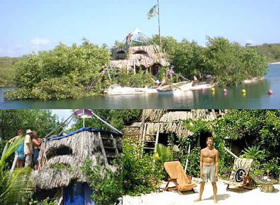 Ilha de Garrafas PET no México