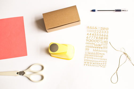 Materiais para fazer lembrancinha artesanal