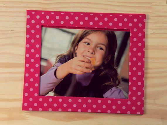 Porta-retratos em EVA passo a passo para o Dia dos Pais