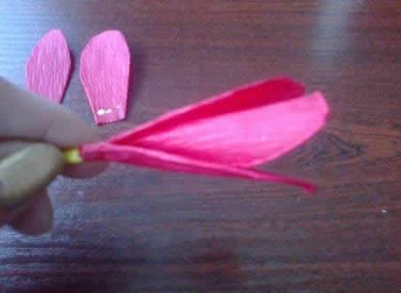 Criando a flor artesanal