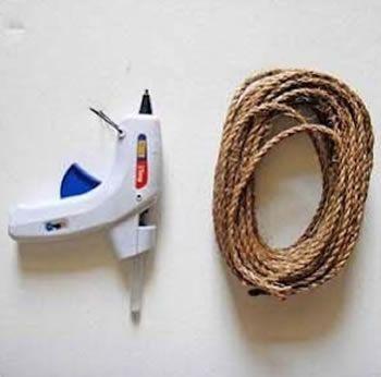 Artesanato passo a passo com cordão