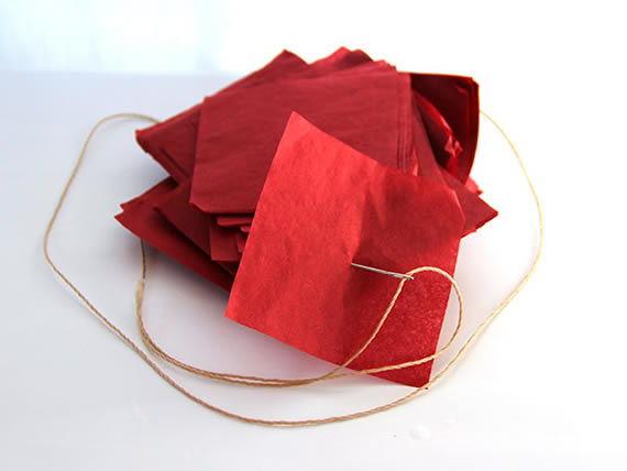 Como fazer uma linda decoração com papel de seda