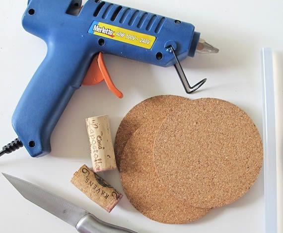 Passo a passo de reciclagem de rolhas para fazer artesanato