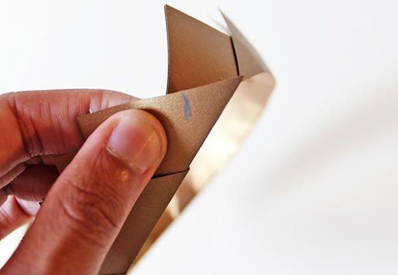 Artesanato com papel para fazer fantasia