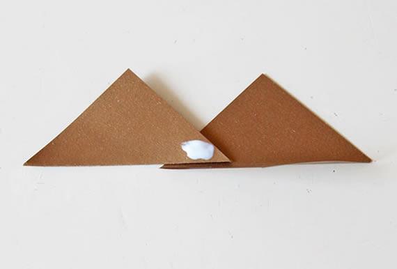 Colando os triangulos