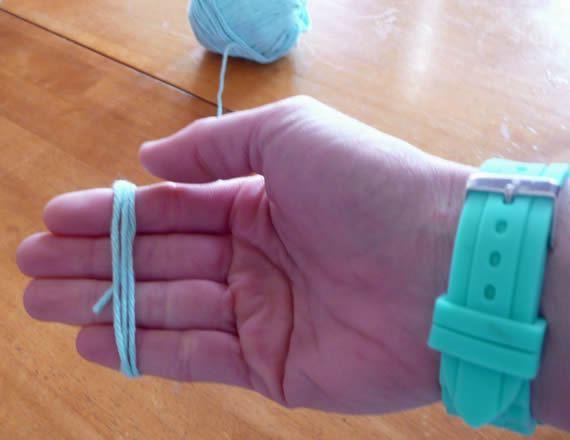 Artesanato com fios de lã passo a passo