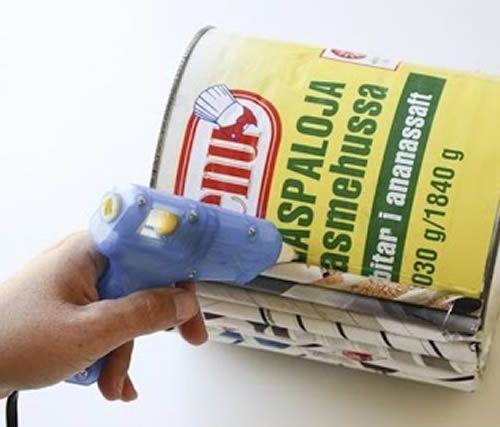 Criando o jarrinho reciclado