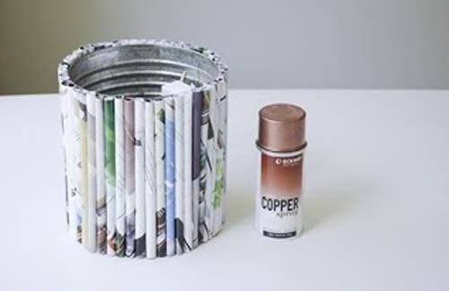 Artesanato com reciclagem