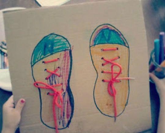 Sapatos decorados para o Dia das Crianças
