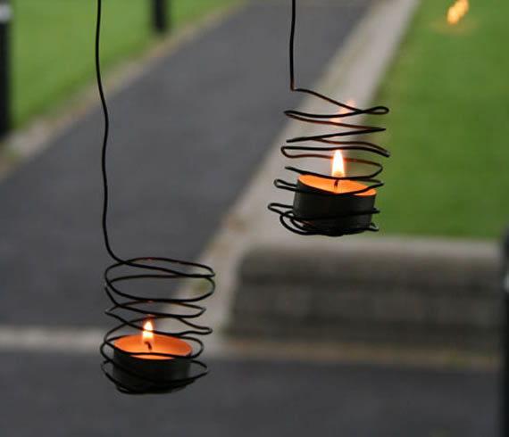 Decoração com velas passo a passo