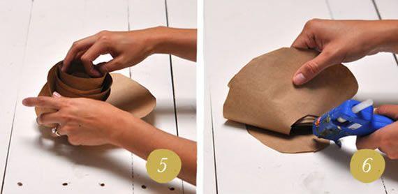 Faça sua própria florzinha de papel