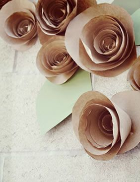 Florzinhas de papel passo a passo
