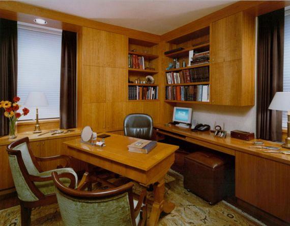 Móveis clássicos para decorar o escritório