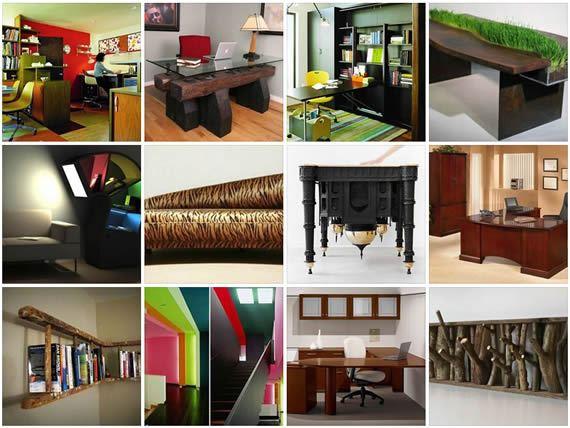Ideias para fazer decoração de escritório