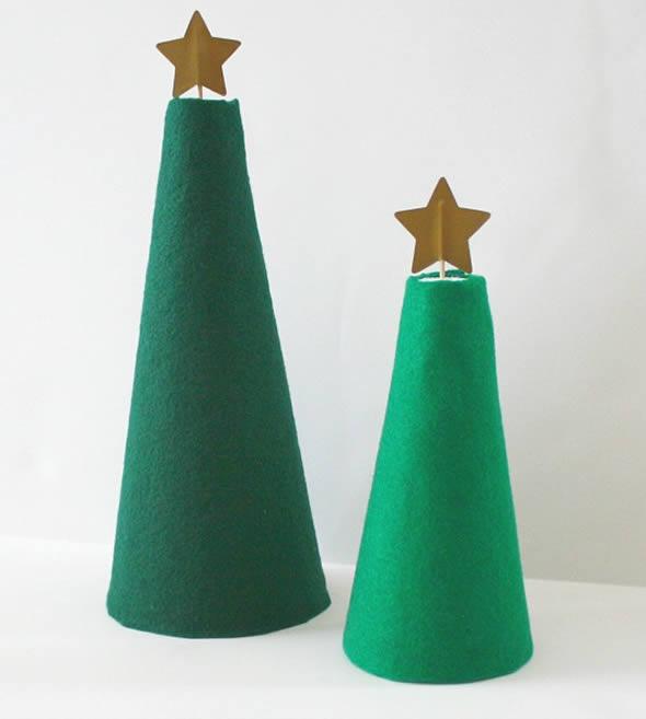 Árvore de Natal em miniatura para crianças