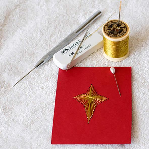 Cartãozinho de Natal passo a passo