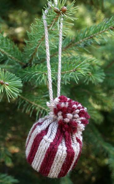 Lindo gorrinho para enfeitar a Árvore de Natal