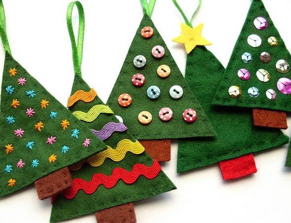 Como fazer Pano de Prato simples para o Natal passo a passo