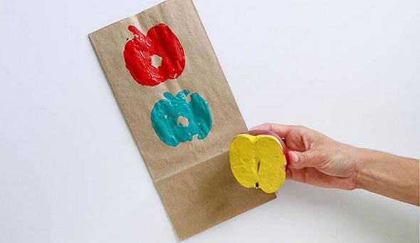 Estampa colorida e criativa para fazer em casa