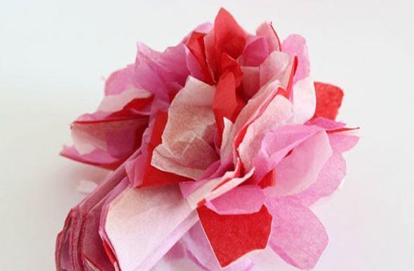 Como criar uma flor de papel seda passo a passo