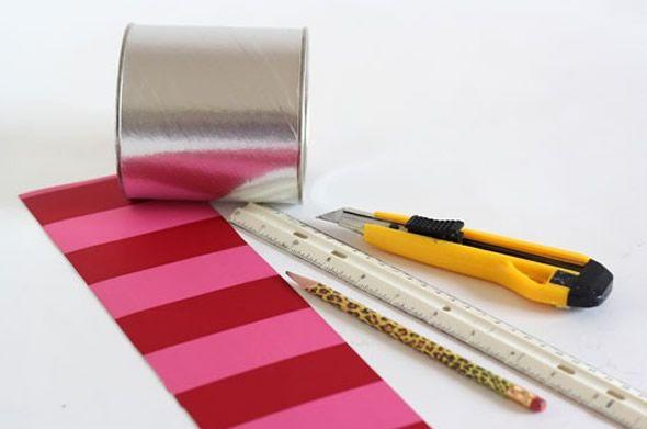 Materiais para criar lembrancinha reciclada