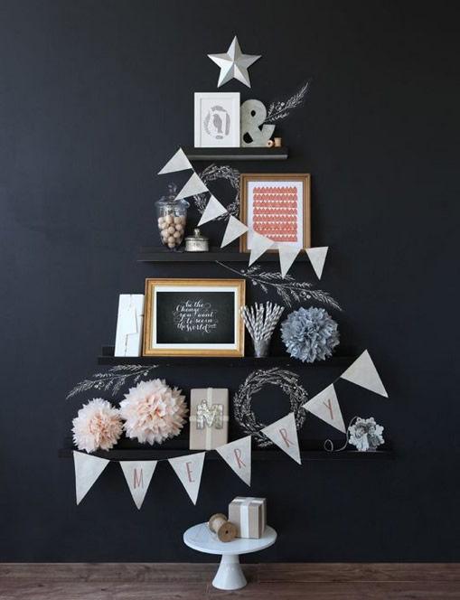 Árvore de Natal criativa para inspirar ideias legais