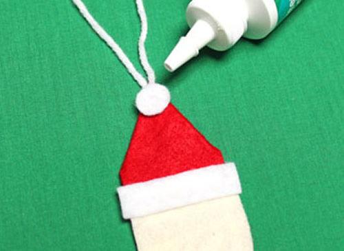 Criando um lindo Papai Noel em feltro