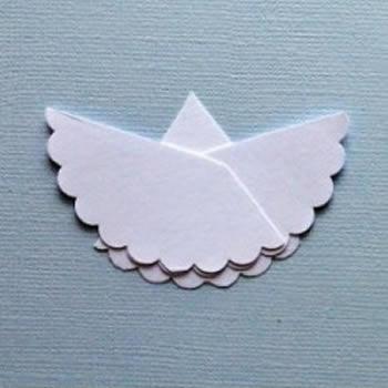 Criando anjinho de papel passo a passo