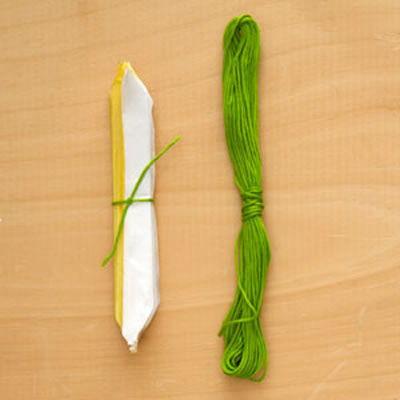 Confecção super fácil de fazer com papel seda