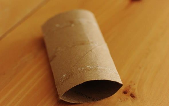 Rolinhos de papelão para fazer artesanato