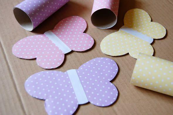 Asinhas de papelão para artesanato infantil