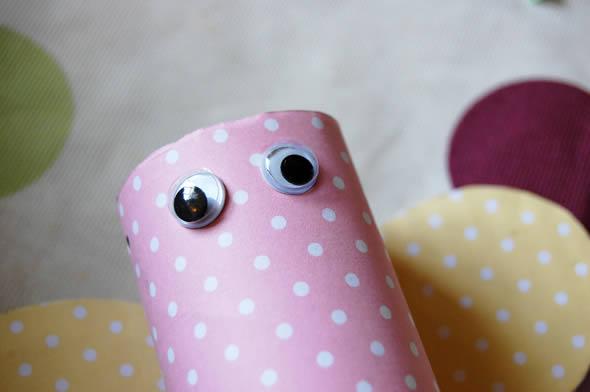 Olhinhos de plástico para artesanato infantil