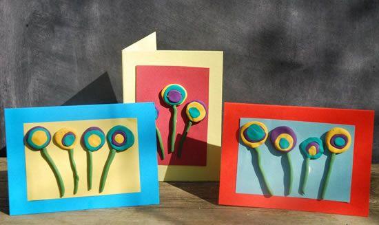 Artesanato para fazer com crianças para o Dia das Mães