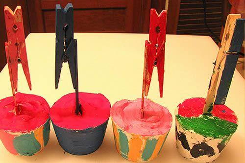 Artesanato infantil para o Dia das Mães