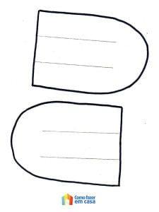 Molde para criar cartão