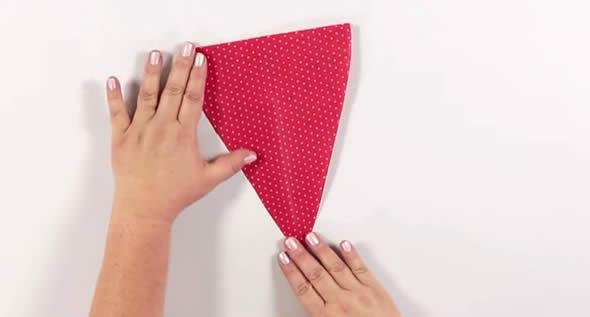 Bandeirinhas de papel de seda