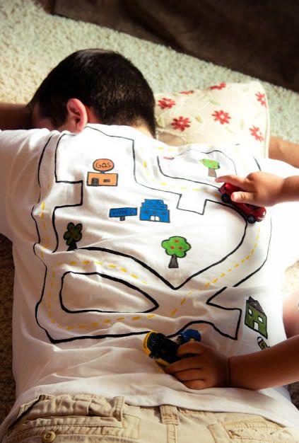 Camisa criativa para dar no Dia dos Pais
