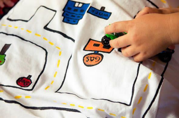 Camisa criativa para dar ao papai