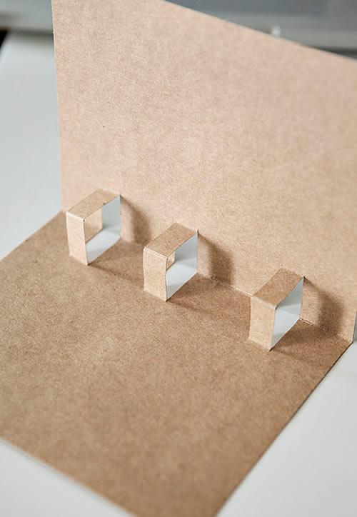 Criando o efeito 3D no cartão