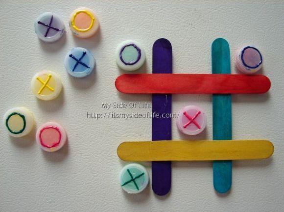 O Que Mais Vende Em Artesanato ~ 12 Brinquedos com Tampinhas Recicladas Como fazer em casa