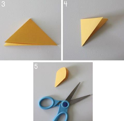 Como criar uma flor de papel