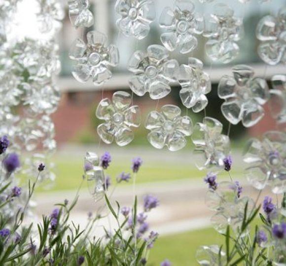 Поделки для сада и дачи из пластиковых бутылок своими руками фото 146