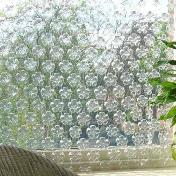 Reciclagem de garrafas pet para decoraç u00e3o