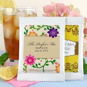 Sachê de chá personalizado para casamento