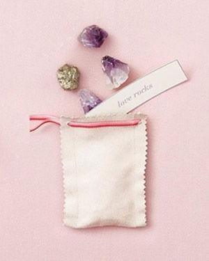 Pedras semi-preciosas para lembrancinhas