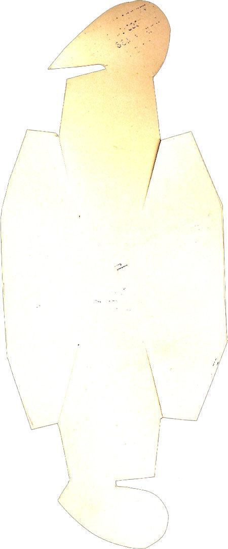 Usando uma latinha como molde, risque o EVA colorido com um palitinho.
