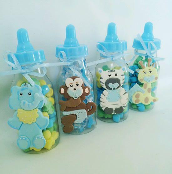 Baby Shower Gift Ideas Dubai : Mini mamadeiras decoradas para cha de bebe