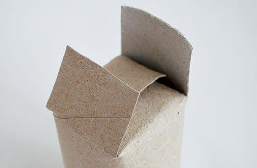 Artesanatos com rolinhos de papelão